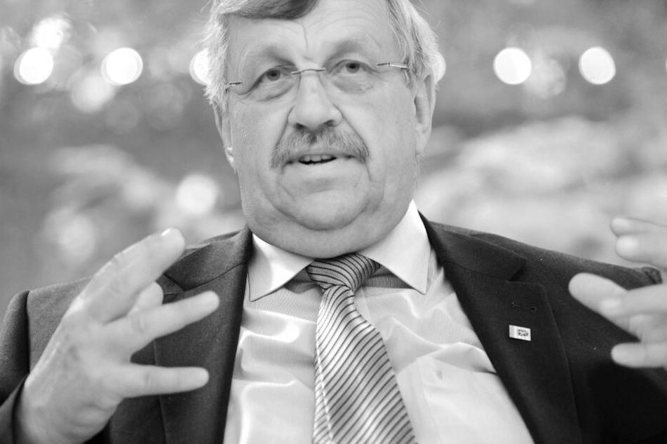 Das Archivbild aus dem Jahr 2012 zeigt den verstorbene Kasseler Regierungspräsidenten Walter Lübcke.