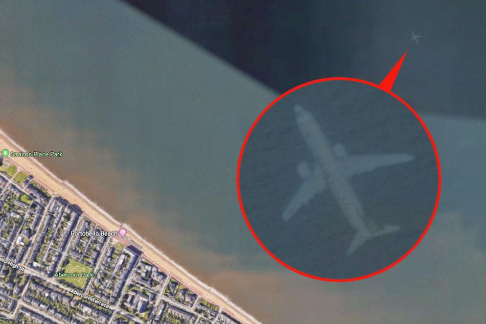Mann surft auf Google Earth: Was er dann entdeckt, ist echt unheimlich