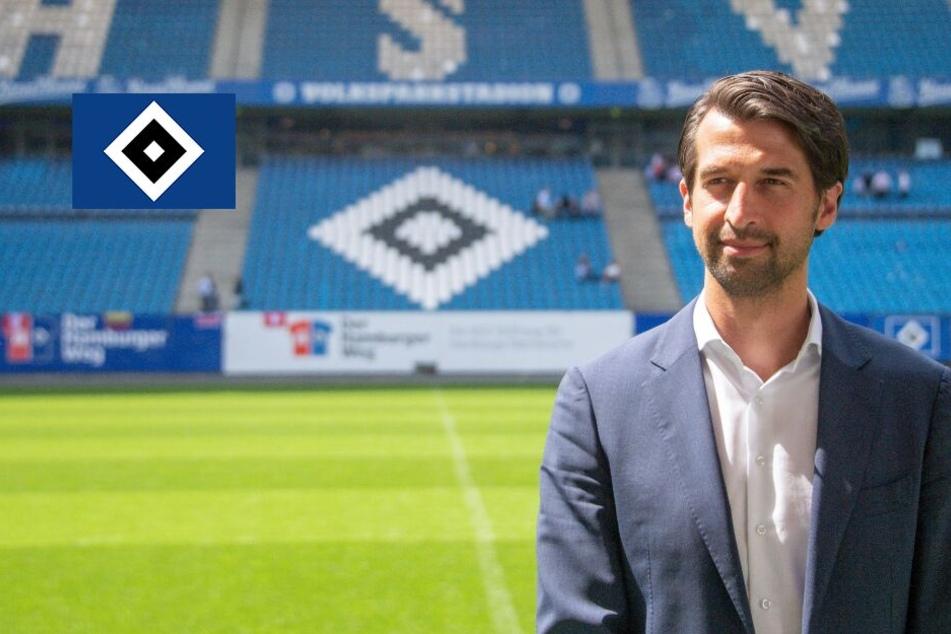 """Sportchef Jonas Boldt: HSV soll """"nicht so enden, wie in der Vergangenheit"""""""