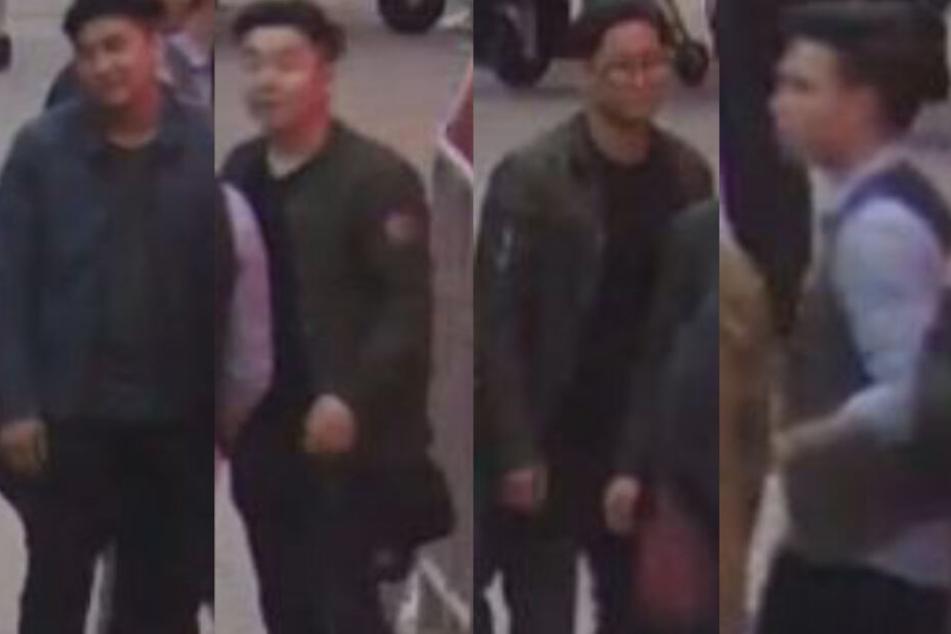 Polizei München sucht Zeugen: Wer kennt dieses Schläger-Quartett?
