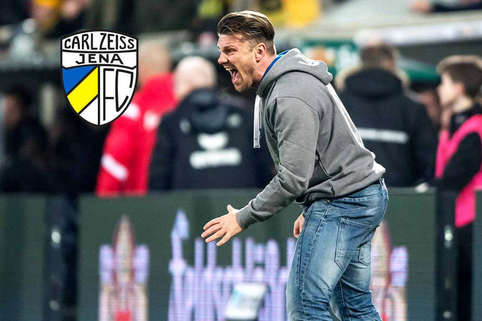 Jena-Coach Kwasniok entschuldigt sich nach Wut-Ausbruch bei Balljungen