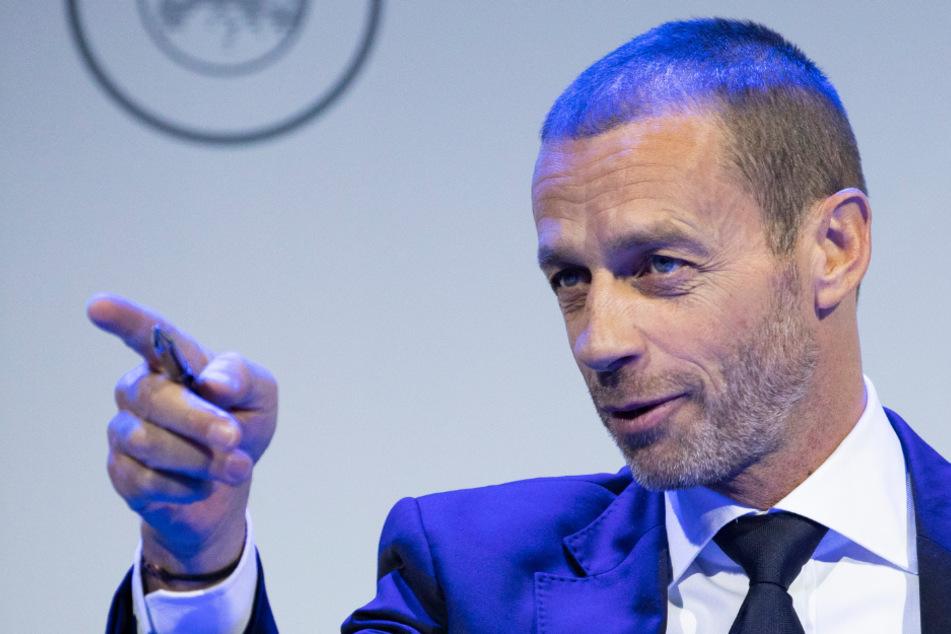 UEFA-Verbandschef Aleksander Ceferin (53).