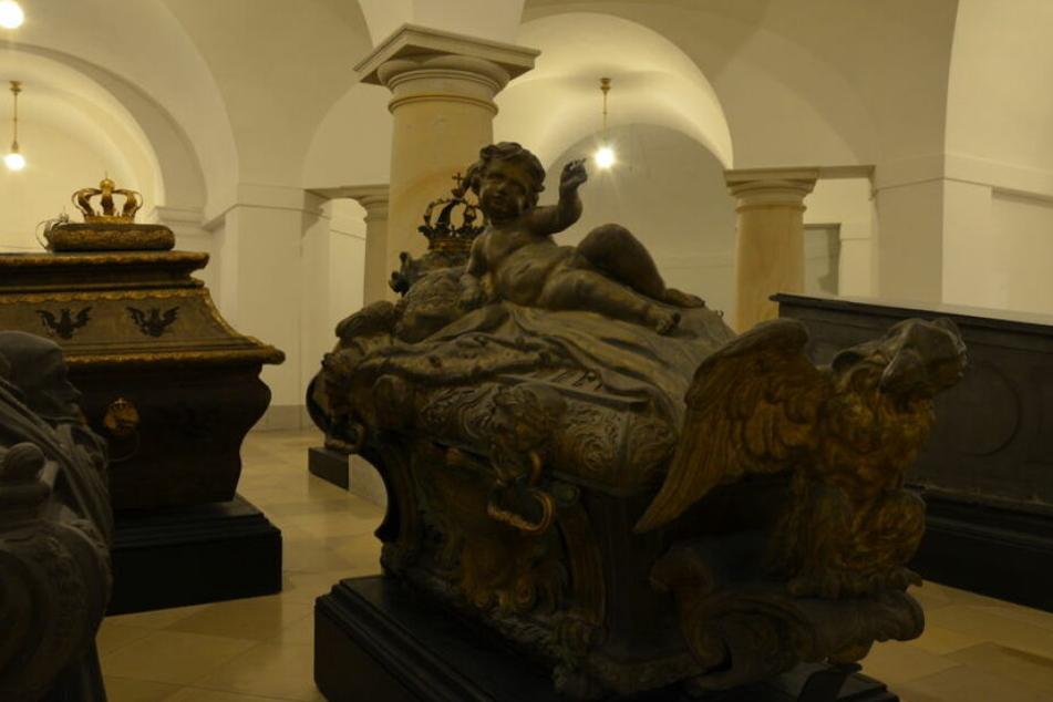 Die Hohenzollern-Grabstätte wir umgebaut (Symbolbild).