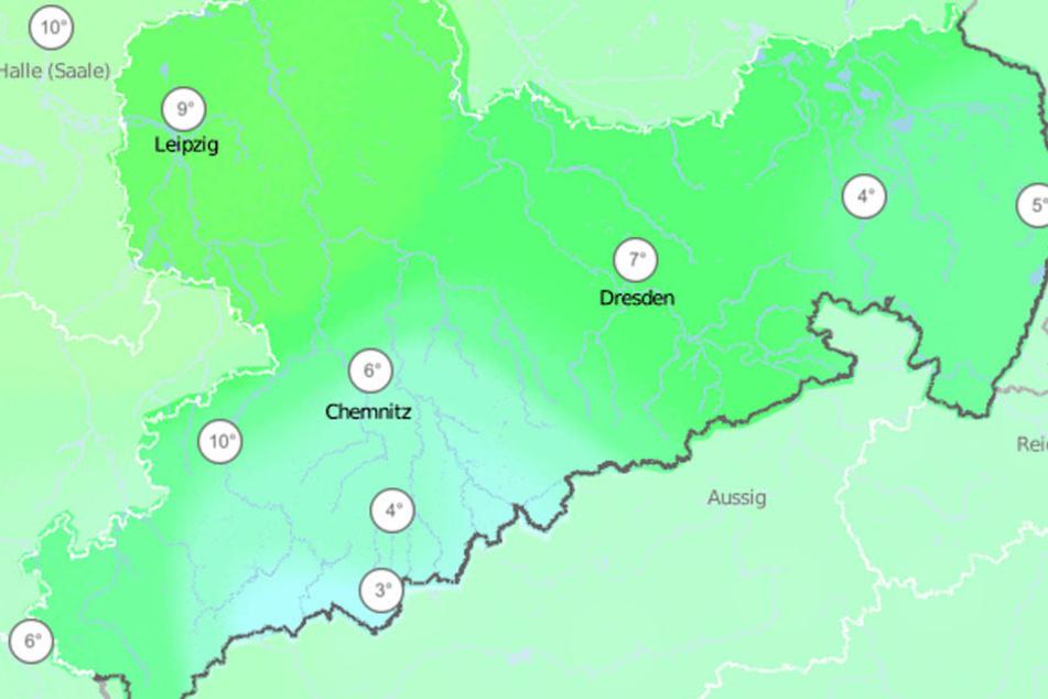 In den nächsten Tagen wird es in Sachsen deutlich wärmer.