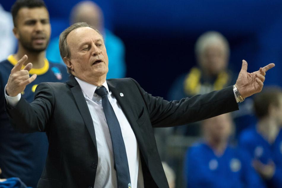 Mann des Erfolgs: Trainer Aito Garcia Reneses von Alba Berlin.