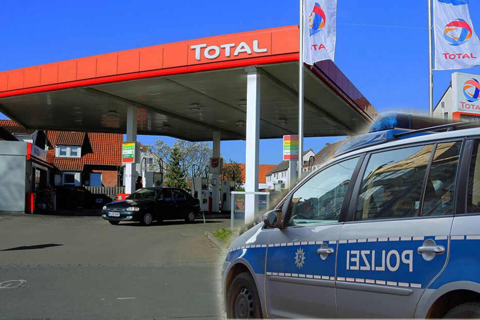 An einer Tankstelle in Wittenberg sorgte eine betrunkene 58-jährige für Aufregung. (Symbolbild)