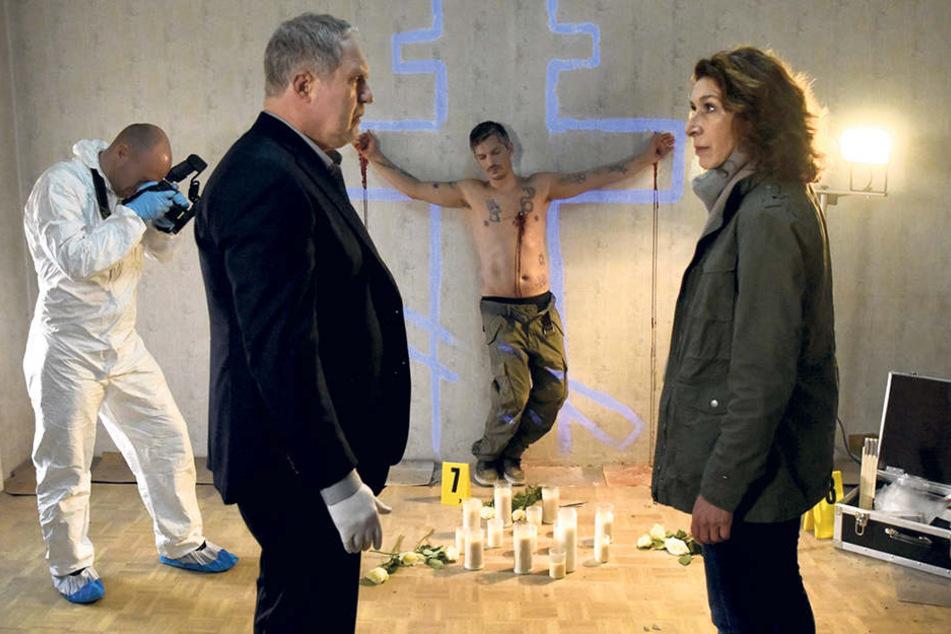 """Eine """"Spezialität"""" des """"Tatort"""" aus Wien: Hier sind die Leichen oft besonders übel zugerichtet."""