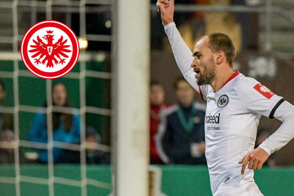 Eintracht Frankfurts Bas Dost träumt von Tor gegen Ex-Club Wolfsburg