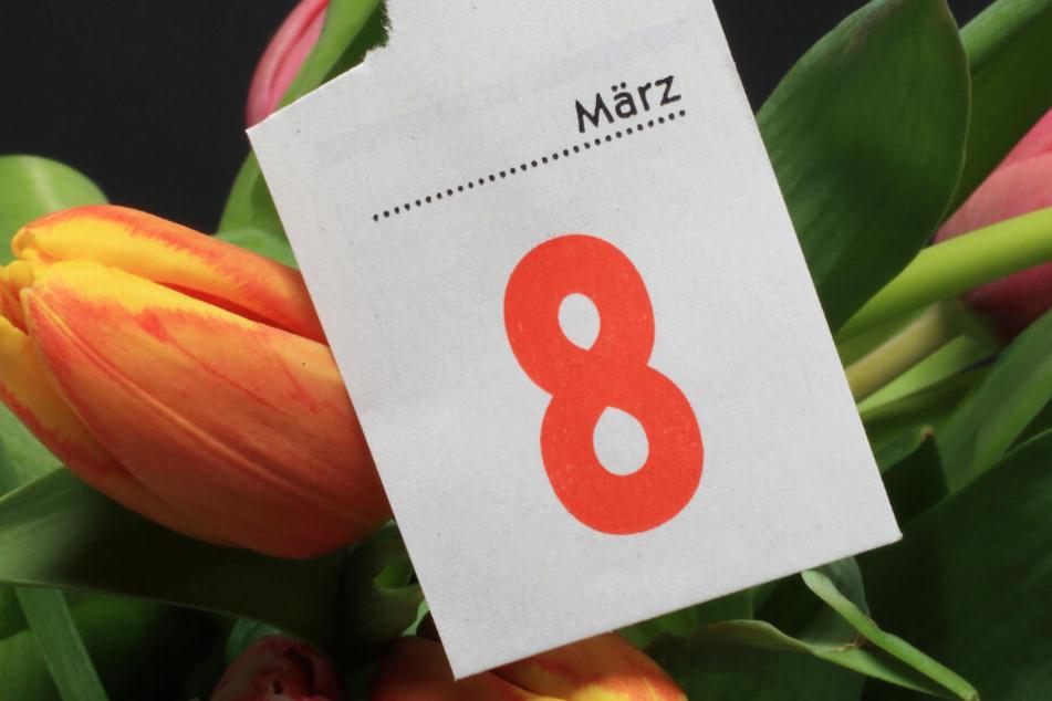 Am 8. März ist internationaler Frauentag.