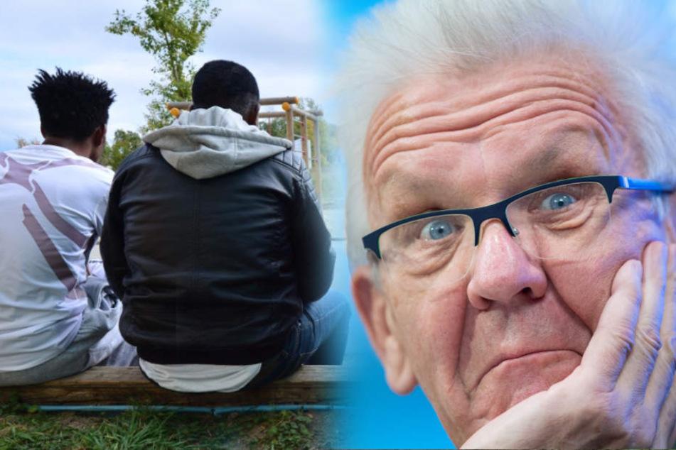 Nach Gruppen-Vergewaltigung: Kretschmann fliegt Flüchtlings-Äußerung um die Ohren