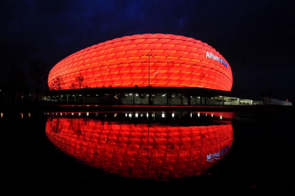 Die Allianz Arena bietet Platz für 75.000 Zuschauer.