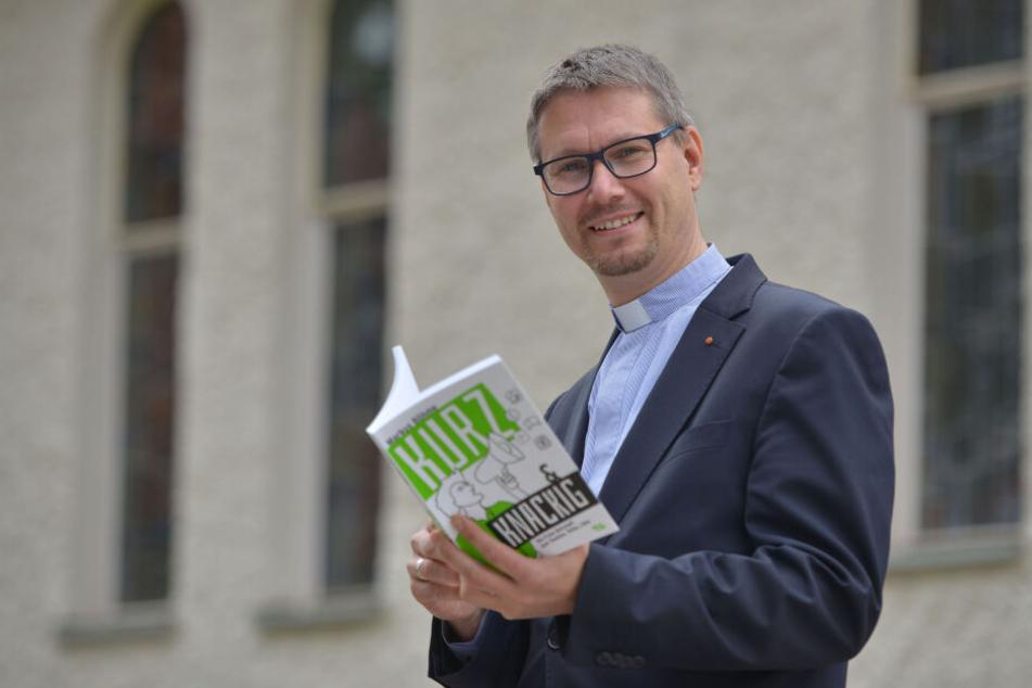 Zwickauer Pfarrer verkündet frohe Botschaft bei Facebook