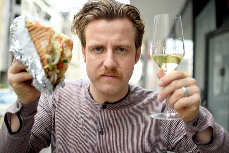 Der Weinexperte Billy Wagner empfiehlt, welche Weine zu einem Döner passen.