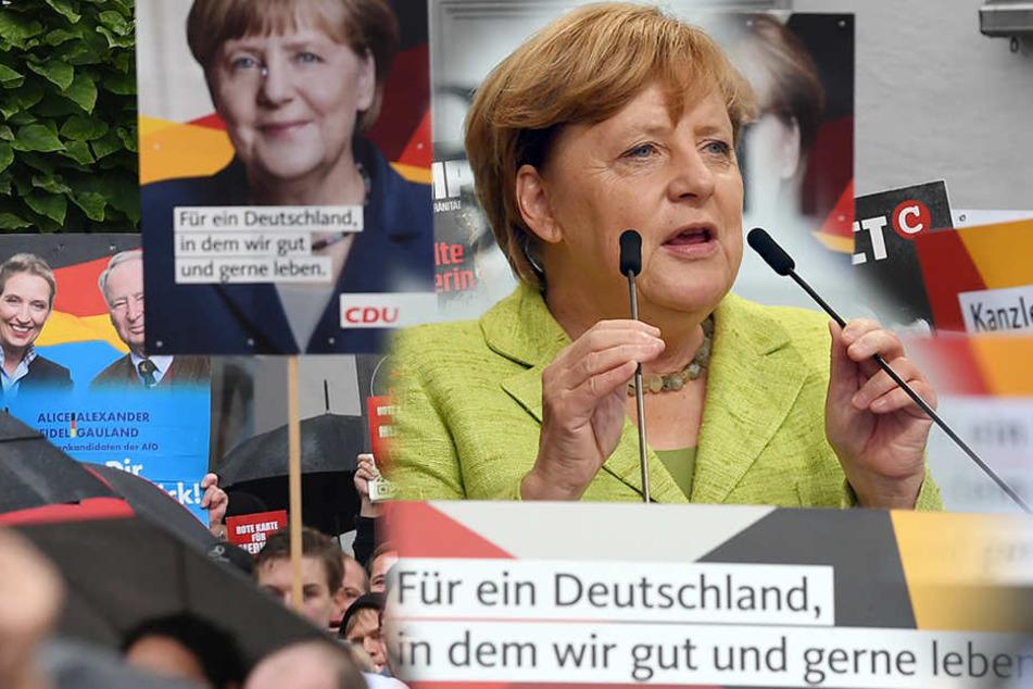 Eine 63-jährige Frau soll versucht haben, Bundeskanzlerin Angela Merkel bei ihrem Wahlkampfauftritt in Torgau anzugreifen.