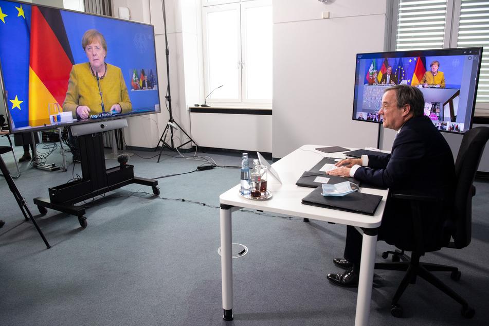 Laut Kanzlerin Merkel führen neue Selbsttests nicht automatisch zu sofortiger Besserung.