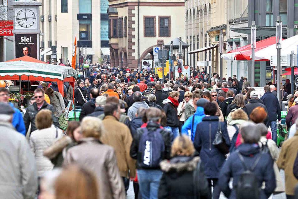 Im vergangenen Jahr tummelten sich so viele Besucher wie noch nie in Leipzig.