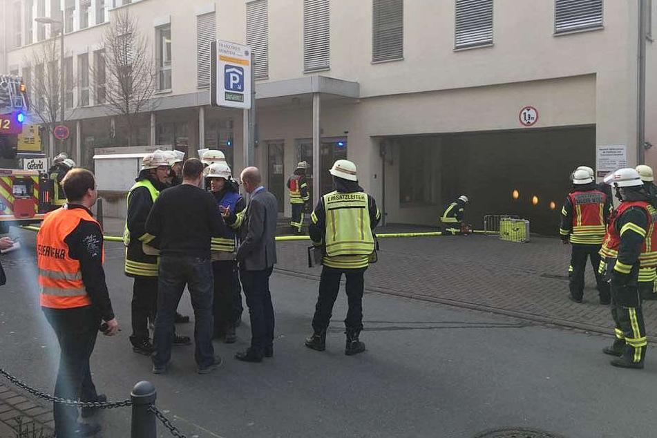 Schnell hatte die Feuerwehr den Brand unter Kontrolle.
