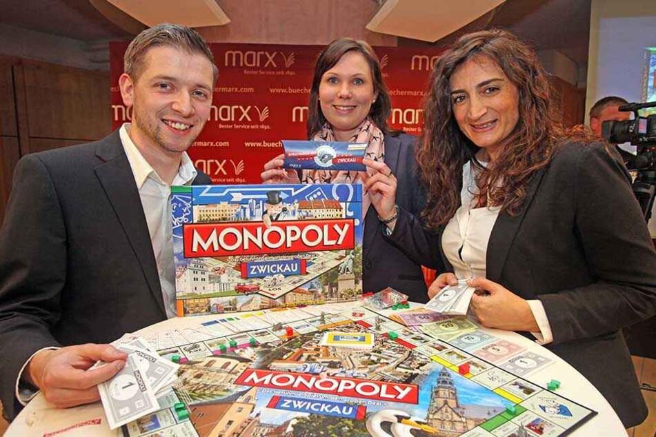 Ob's Zwickau aufs deutschlandweite Monopoly schafft? Florian Freitag (30)  hofft als Initiator des Zwickau-Monopolys drauf.