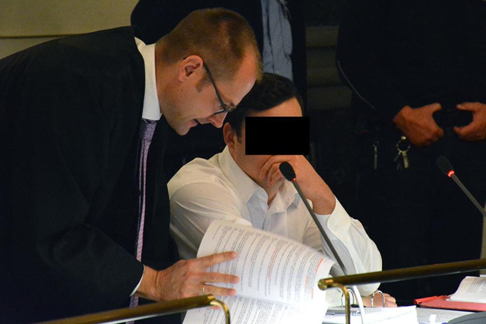 Dynamo-Fan Michael E. (25, M.) ist wegen versuchten Totschlags angeklagt.