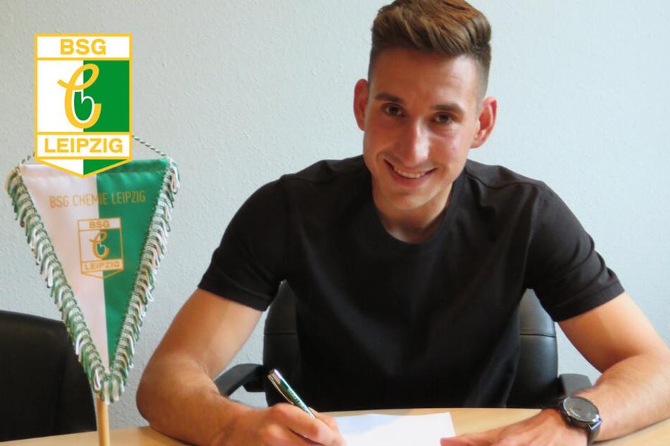 Chemie Leipzig verpflichtet Regionalliga-Routinier