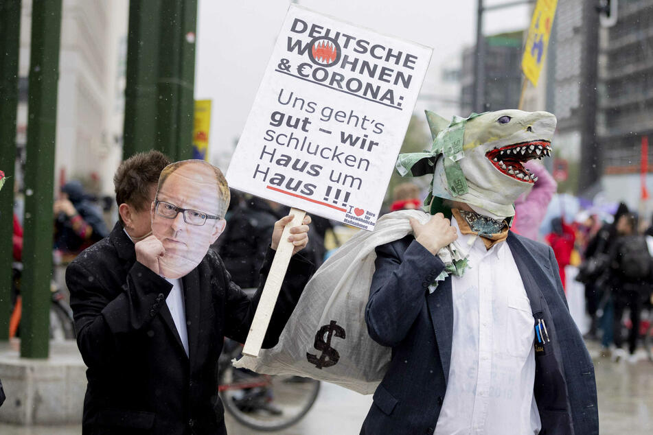 Eine Initiative fordert, Deutsche Wohnen zu enteignen.