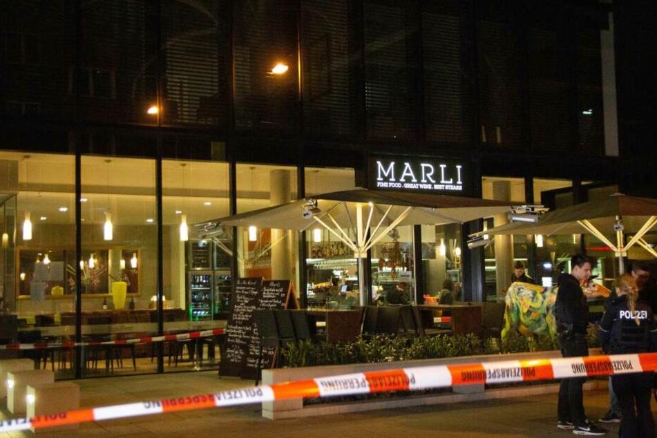 Tatort war ein Restaurant der gehobenen Klasse in Düsseldorf.