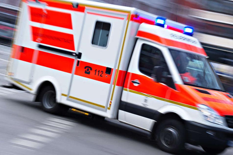 Im Krankenhaus wurde bei der 36-Jährigen eine Schädelfraktur festgestellt. (Symbolbild)