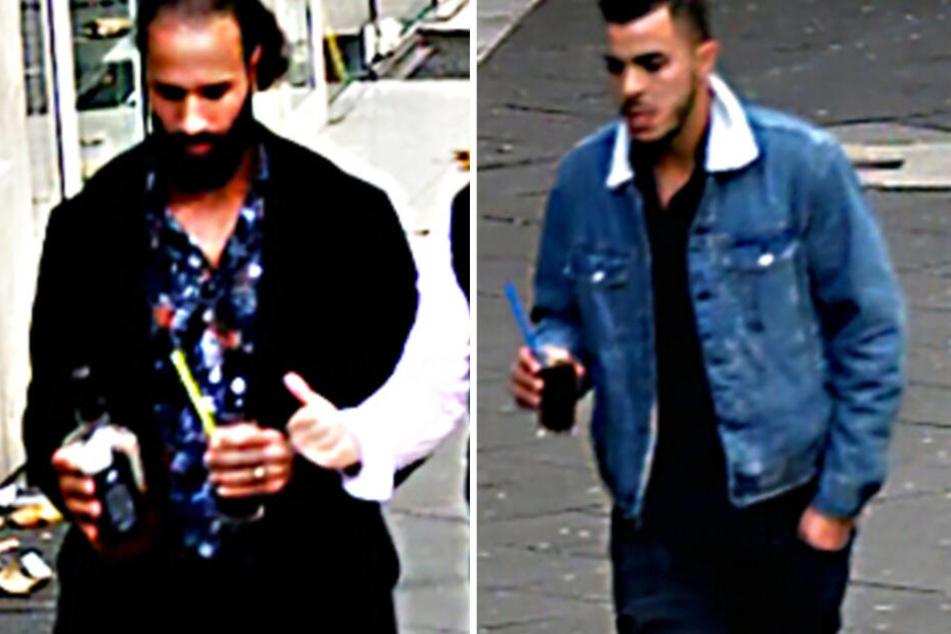 Diese beide Männer sollen ihr Opfer nach einem Bordell-Besuch geschlagen und ausgeraubt haben.