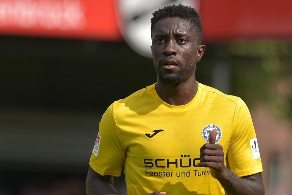 Bei Arminia Bielefeld musste der Angreifer zuletzt mit den Spielern trainieren, die sich von schweren Verletzungen erholen.