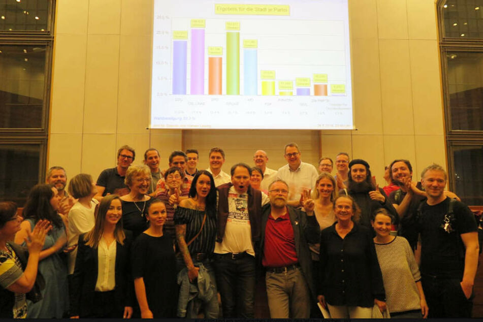 Die Linke wurde stärkste Partei im Leipziger Stadtrat. Die Partei sicherte sich 21,4 Prozent der Stimmen.