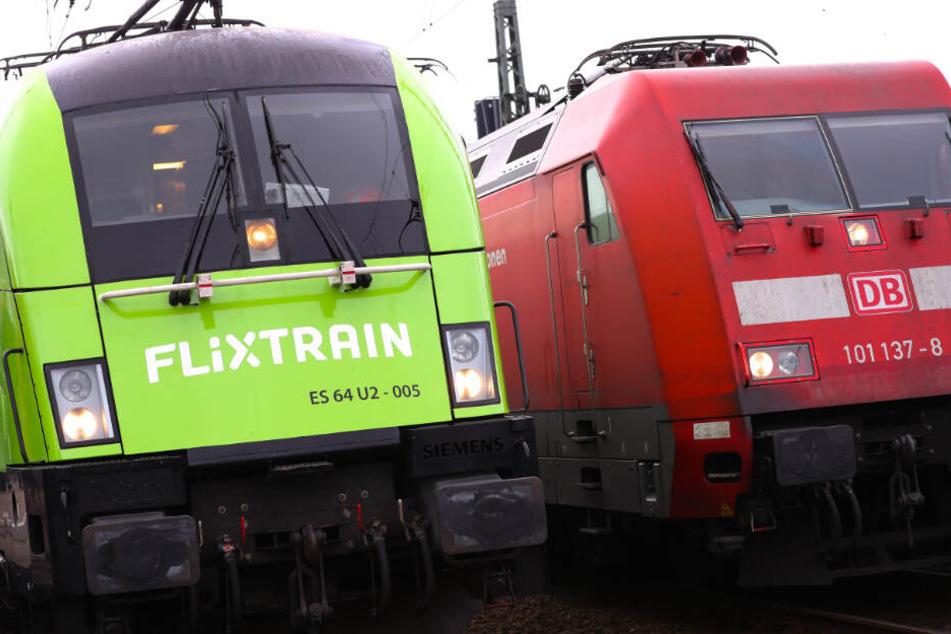 Die Züge von Flixtrain sind eine Alternative zur Deutschen Bahn.