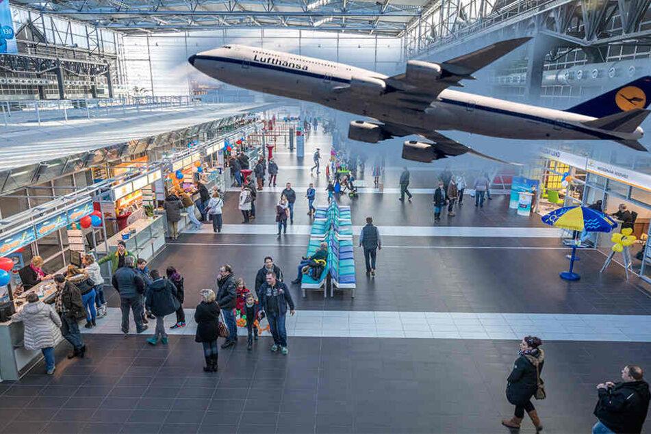 7,5 Prozent mehr Fluggäste als im Vorjahr tummelten sich im Januar auf dem  Flughafen.