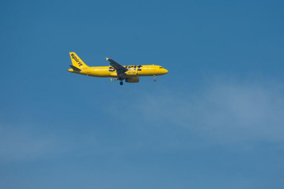 """Die zweifache Mutter war mit """"Spirit Airlines"""" unterwegs. (Archivbild)"""