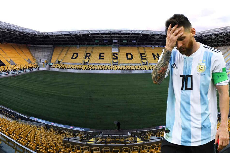 Kein Messi in Dresden! Tschechen spielen in der Heimat