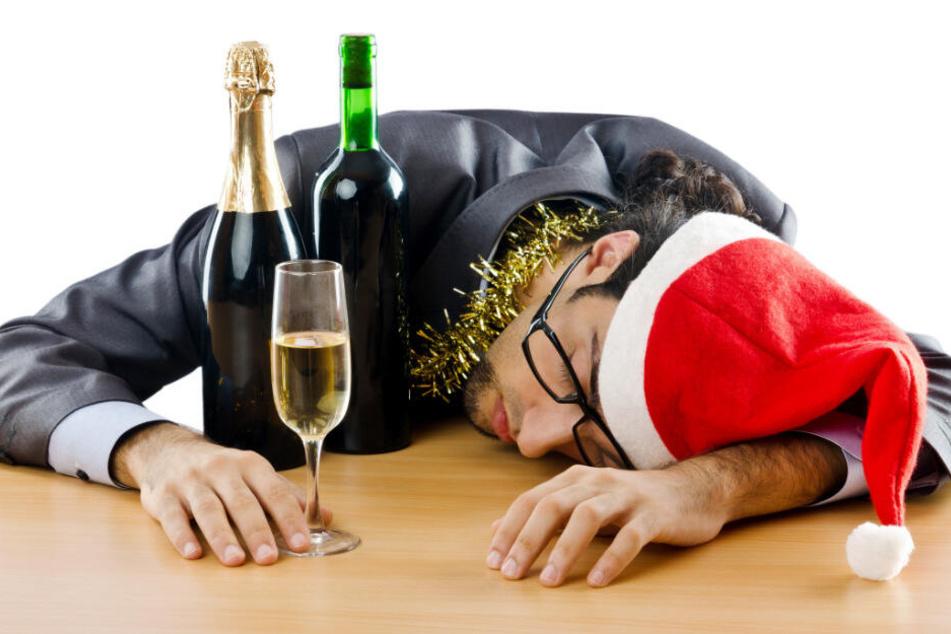 Alkohol gehört bei der Silvester-Party dazu (Symbolbild).