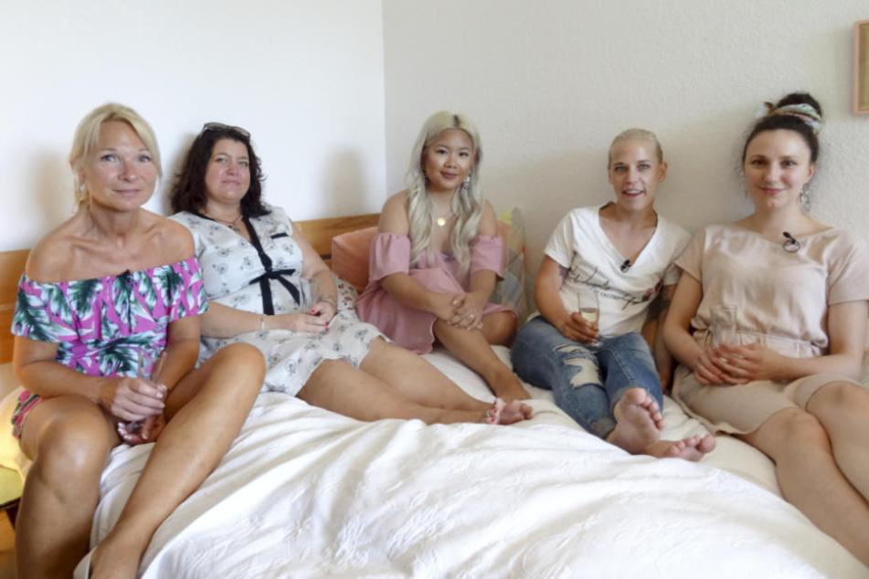 V.l.: Claudia, Vanessa, Karo, Alex und Pia freuen sich über die Herausforderung.