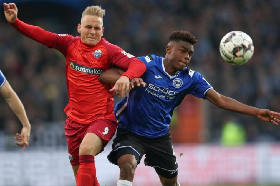Gegen den DSC Arminia Bielefeld verlor der SC Paderborn mit 0:2.