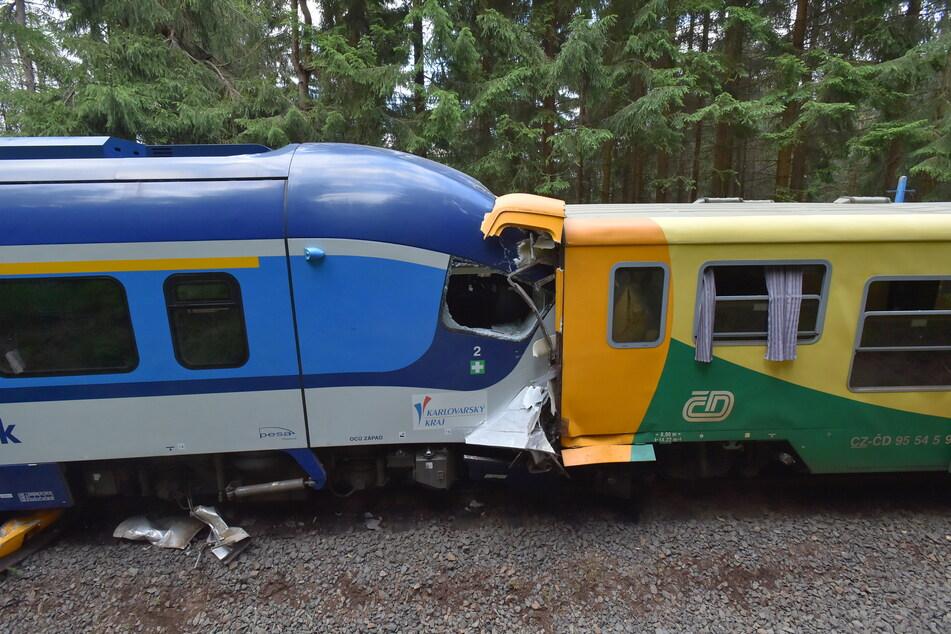 Das Eisenbahnunglück in Tschechien: Dabei kam ein Mann (49) aus Elterlein ums Leben.