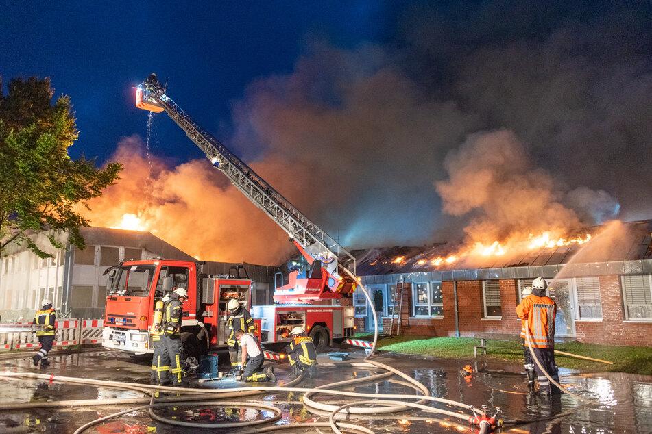 Der Kindergarten wurde bei dem Brand zerstört.