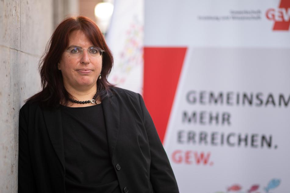 Monika Stein (51) ist die GEW-Landeschefin von Baden-Württemberg.