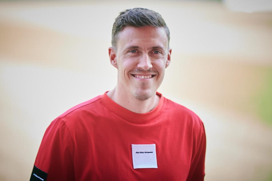 Max Kruse (32) bei seiner offiziellen Vorstellung für seinen neuen Verein 1. FC Union Berlin. Auch in der Hauptstadt darf er seiner Poker-Leidenschaft nachgehen.
