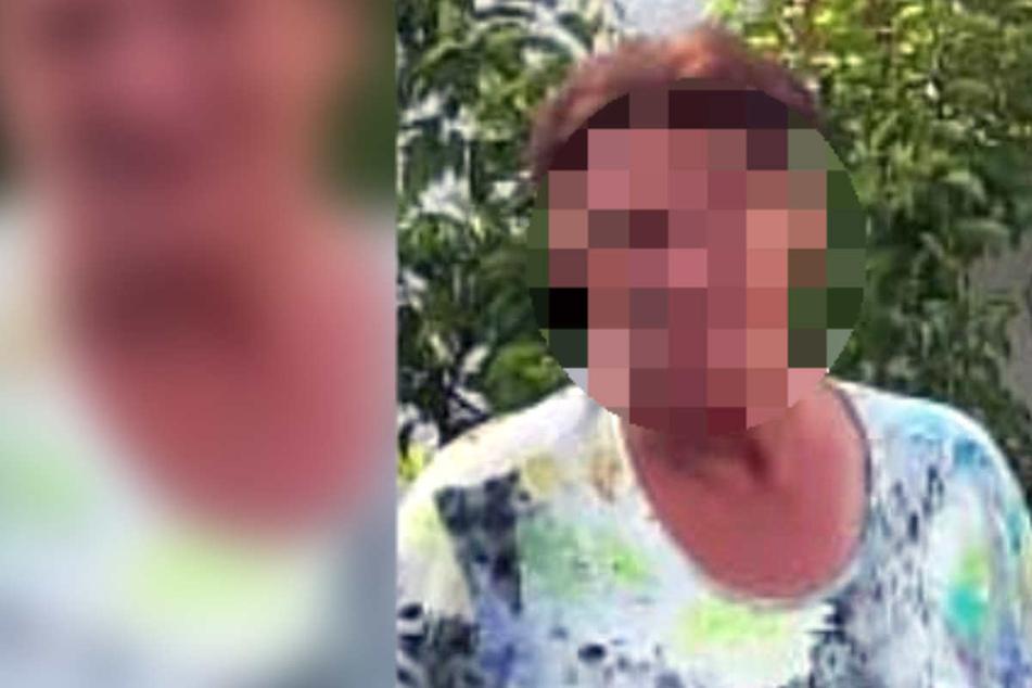 Die vermisste Petra (65) aus Chemnitz wurde leblos aufgefunden.
