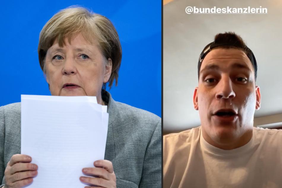 187 Strassenbande: Rapper Gzuz appelliert an Bundeskanzlerin