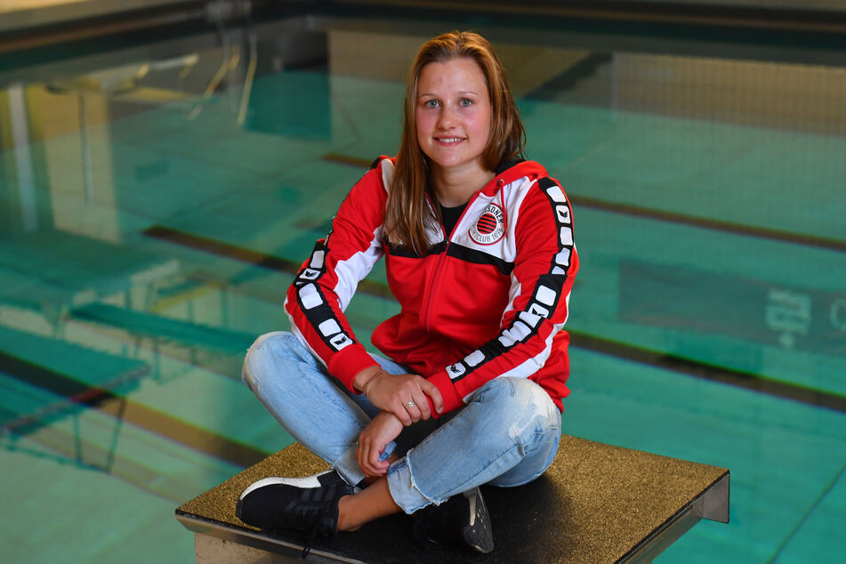 DSC-Turmspringerin Tina Punzel (25) hofft für alle Nachwuchsathleten, dass im März wieder Training im Wasser möglich ist.