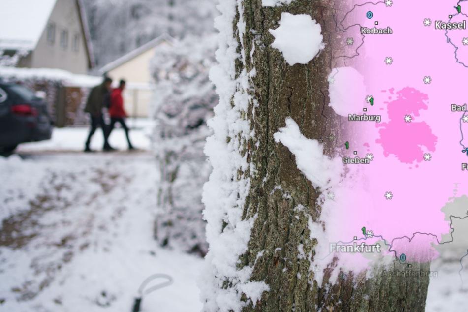 Achtung! Jetzt muss in Hessen mit Schnee und Glätte gerechnet werden
