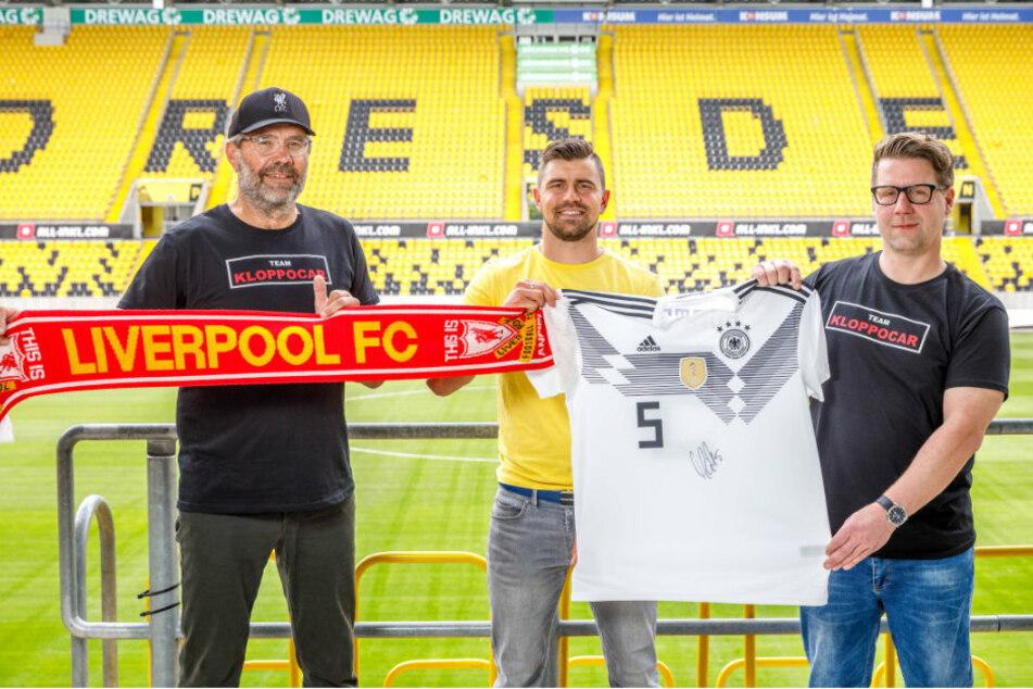 Mats Hummels spendet Nationalmannschafts-Trikot für Dynamo