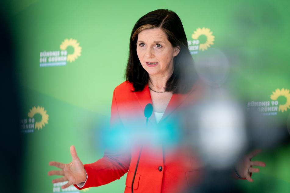 Grünen-Fraktionschefin Katrin Göring-Eckardt (54).