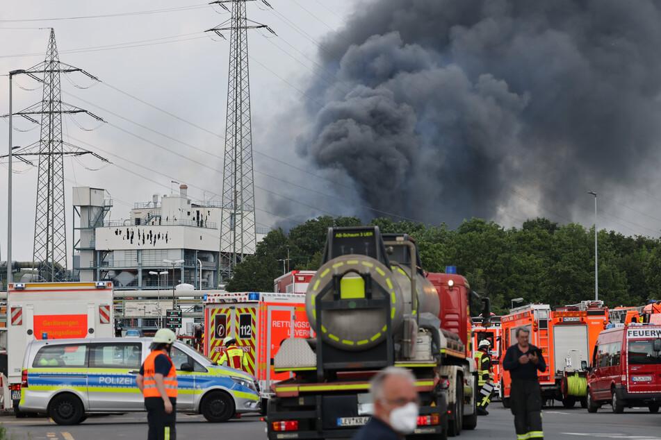 Sieben Menschen sind bei der Explosion in Leverkusen Ende Juli ums Leben gekommen.
