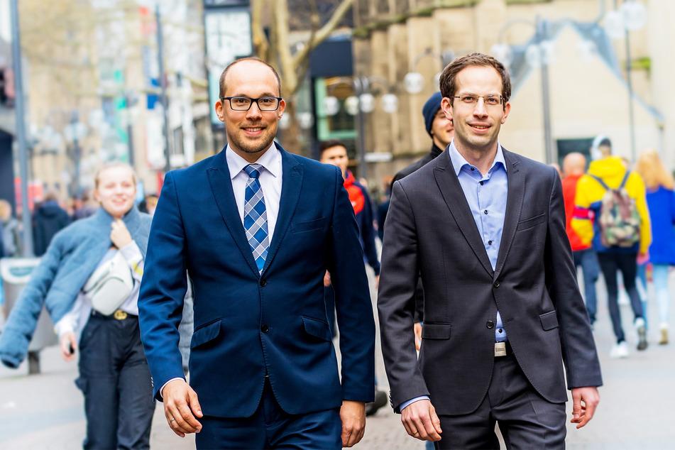 Nico Schröder (l.) und Julian C. Aengenvoort.