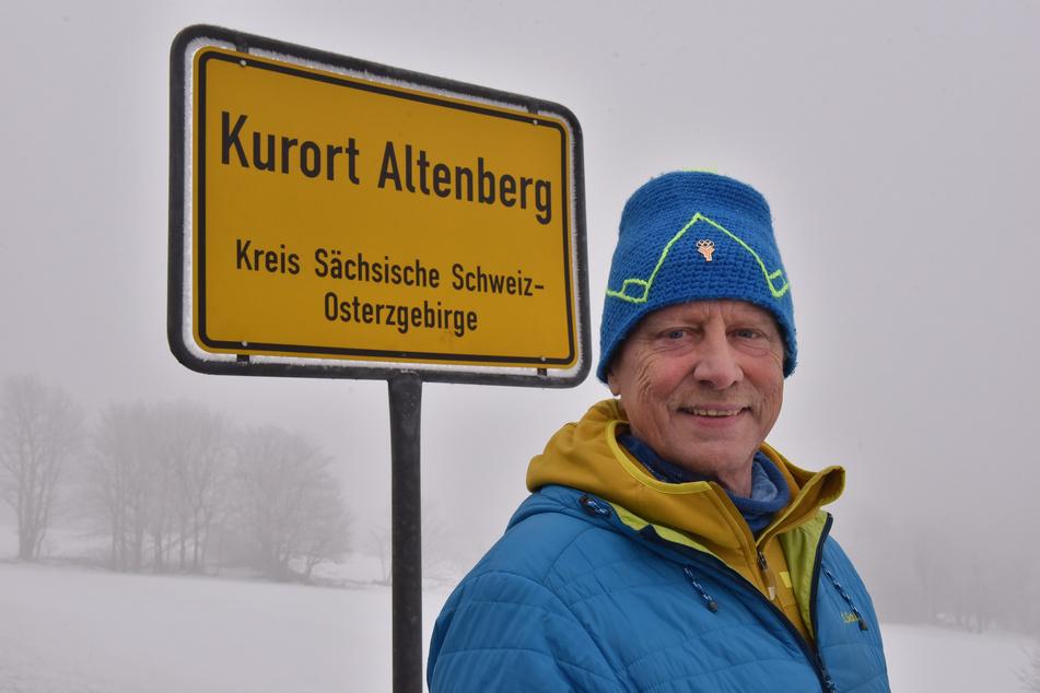 Altenbergs Bürgermeister Thomas Kirsten (66, Freie Wähler).